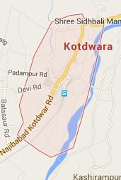 Geography of Kotdwar
