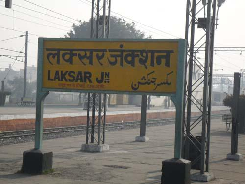 Trains starting from Laksar junction