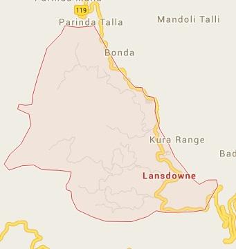 Geography of Lansdowne