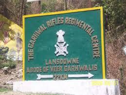 Cantonment board of Lansdowne