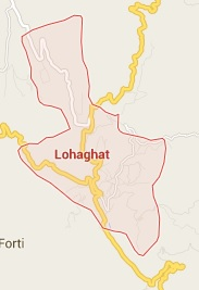Geography of Lohaghat