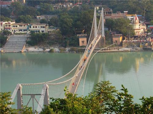 Ram Jhula across River Ganges