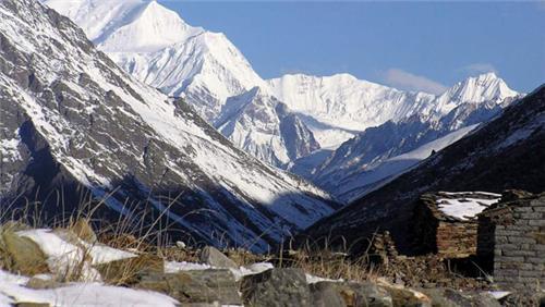 Milam Village to Milam Glacier