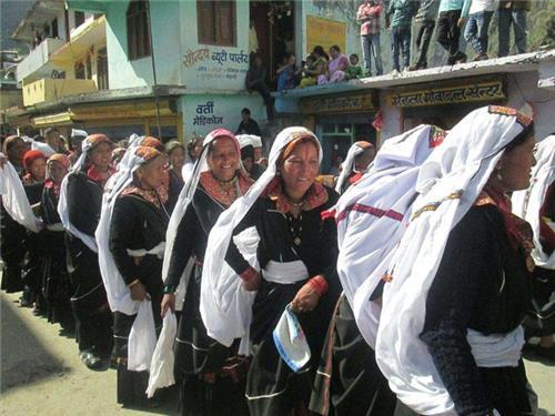 Barpatias of Munsiyari