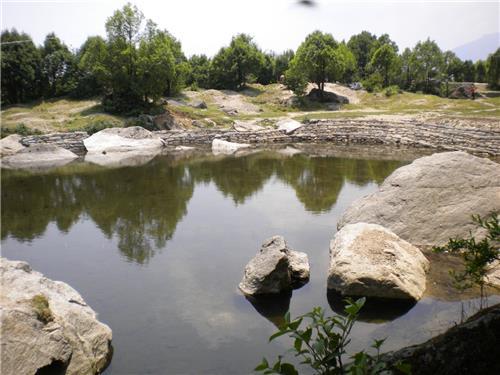 Maheshwari Kund near Munsiari