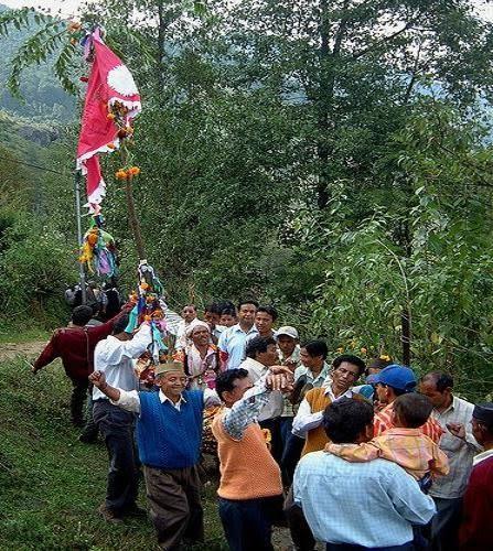 Festival in Munsiari