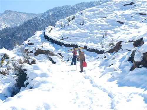 Climate in Munsiari