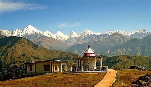 Nanda Devi Temple off Munsiyari