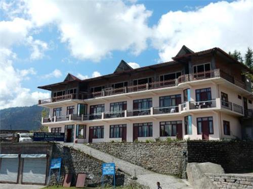 Vijay Mount View Resort in Munsiari
