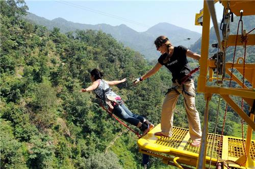 Jumpin Heights in Rishikesh Location