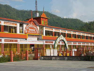 Ved Niketan Ashram in Rishikesh Location