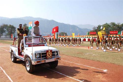 Police in Srinagar