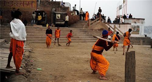 Football in Varanasi