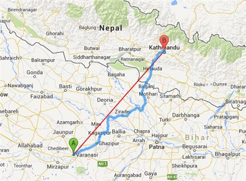 Buses from Varanasi to Kathmandu