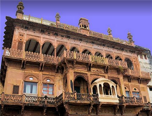 Ram Nagar Fort Monument in Varanasi India