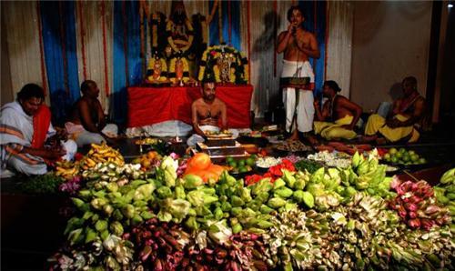 Inside Sri Venkateswara Temple