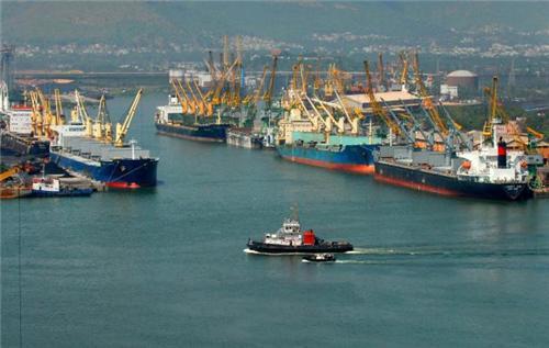 Ports in Vishakhapatnam