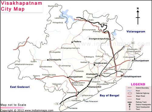 Geography of Visakhapatnam