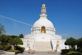 Vishwa Shanti Stupa in Wardha