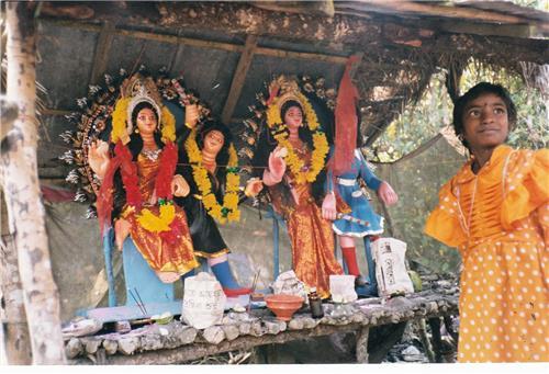 Bonbibi's Idol Reverred at Sunderbans-Credit Amitav Ghosh