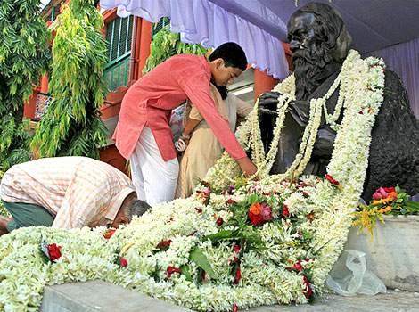 Rabindra Jayanti Celebrations on Tagore's Birthday