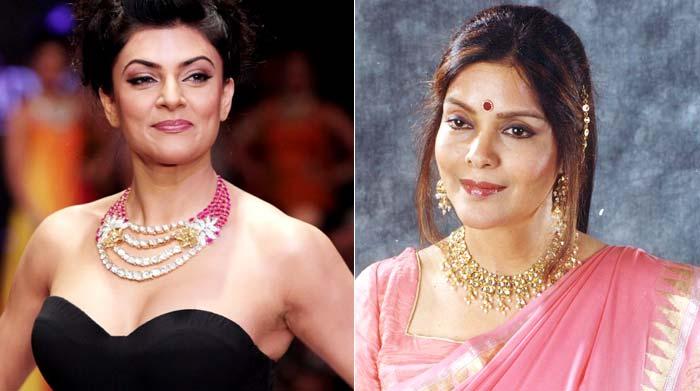 Sushmita and Zeenat