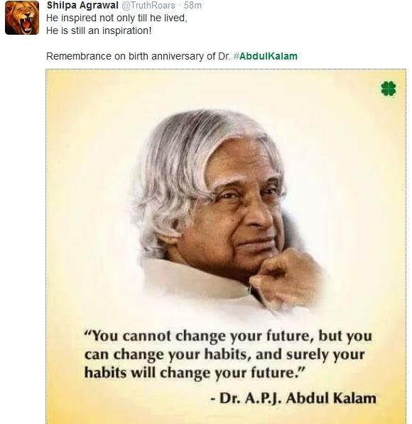 Here's How The Nation Is Celebrating A.P.J Abdul Kalam's Birthday