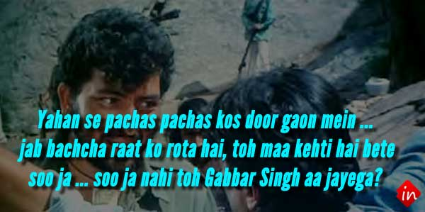 8 lessons we learn from Gabbar