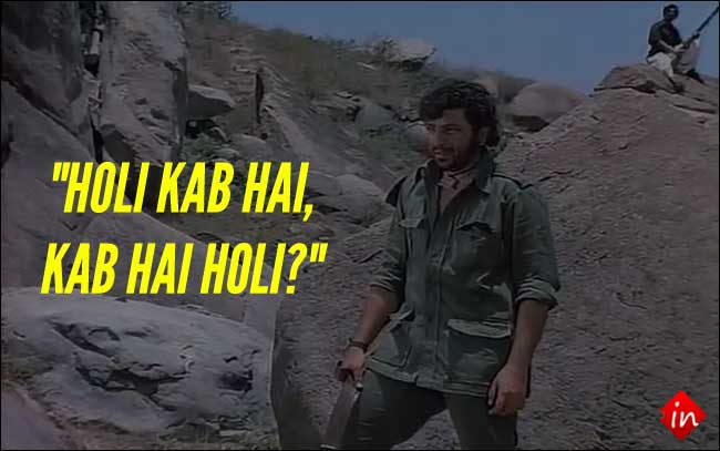 What Holi fans have to say to Diwali fans