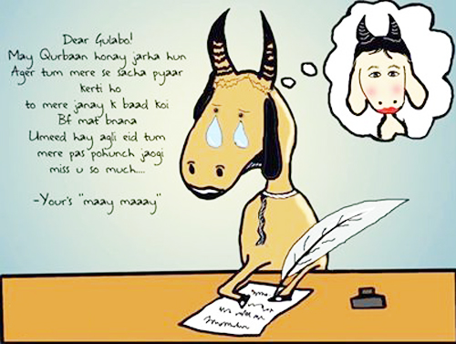 love letter of Bakra