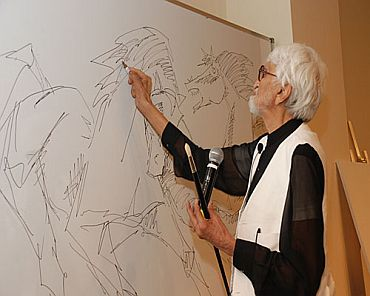 Here Are Some Of The Amazing Things You Must Know About M.F. Husain, The Picasso Of India!