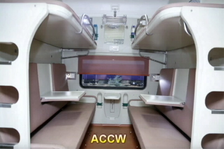 This Newly Designed Model Of Indian Railway Coaches Might Give A Tough Competition To Airlines