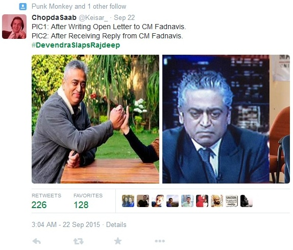 The Tiff Is On: Rajdeep Questions Fadnavis On Being Called Pseudo Secular And Leftist