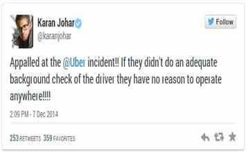 Twitter Flooded Post Uber Rape