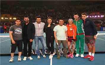 When Roger & Deepika Left the World Star-Struck