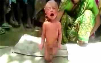 Watch This Shocking Video To See What A 'Witch Doctor' Did With A Newborn Baby!