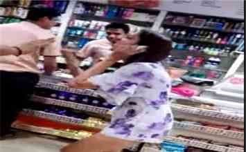 Former Bigg Boss Contestant Pooja Mishra Beats Up Store Staff In Delhi's Karol Bagh