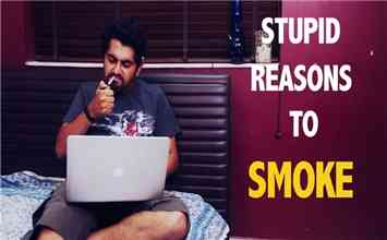 Stupid Excuses People in India Give For Smoking