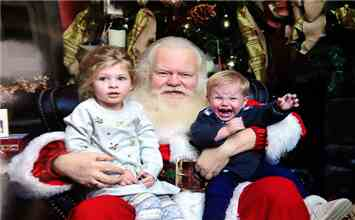 When I Met Santa: Adorable Pictures With Santa