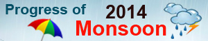 Progress of Monsoon - 2014