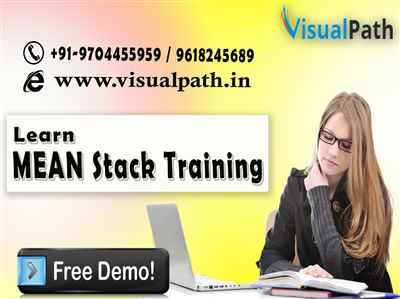 Best MEAN Stack Training MEAN Stack Training classes in Hyderabad