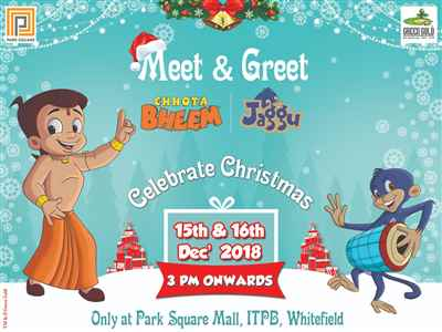 Meet And Greet Chotta Bheem And Jaggu