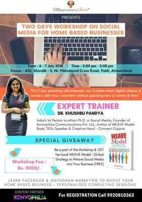 Social media workshop for home based business