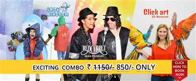 Exiting Offers on Combo Booking of Red Carpet Museum And Snow Kingdom In Mumbai