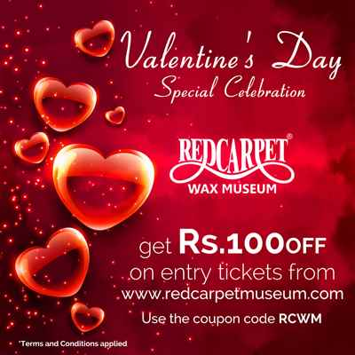 Valentine s Day Special Celebration at Red Carpet Wax Museum Mumbai