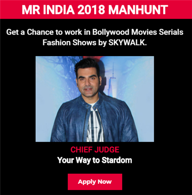 Mr India 2018 Modeling Auditions
