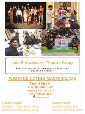 Weekend Acting MasterClass