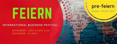 Pre Feiern – Pre Event for International Business Festival