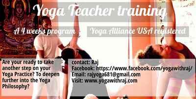 Yoga Teacher Training in Goa India Yoga With Raj