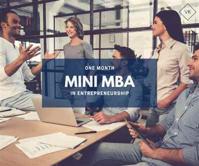 Mini Mba in entrepreneurship